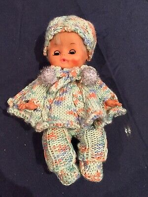 Hand Knitted Dolls Clothes For 8 Inch Doll