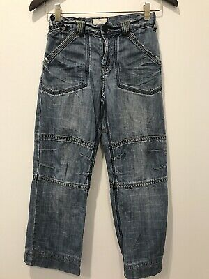 Boys Country Road Jeans Trouser Pants Blue Denim Full Length Winter Size 10