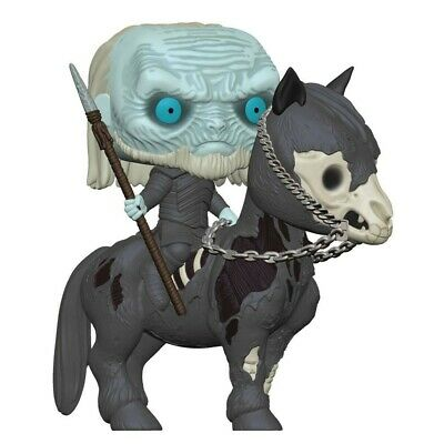 ON HAND Funko POP Mounter White Walker on Horse #60 Game of Thrones Vinyl Figure