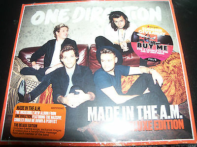 One Direction Made In The AM (Australia) Deluxe Edition CD - New