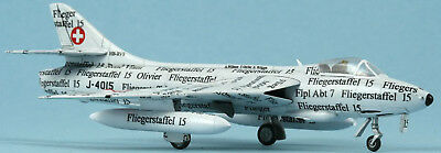 Swiss Air Force Stahlmodell Hunter neu 2018 Papyrus J-4015 1:72  limit.