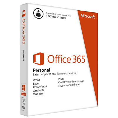 MICROSOFT OFFICE 365/2016 PRO PLUS Lifetime Account 5 devices 5TB Onedrive