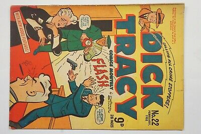 Dick Tracy comic book No. 22 issued Feb 1952