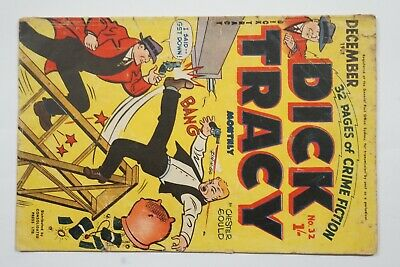 Dick Tracy comic book No. 32 issued Dec1952