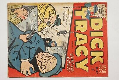 Dick Tracy comic book No. 47 issued Mar 1954