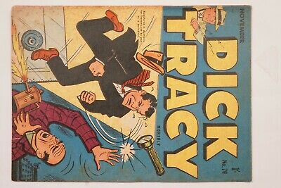 Dick Tracy comic book No. 79 issued Nov 1956