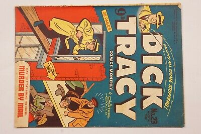 Dick Tracy comic book No. 23 issued Mar 1952