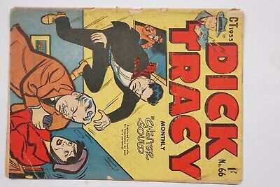 Dick Tracy comic book No. 66 issued Oct 1955