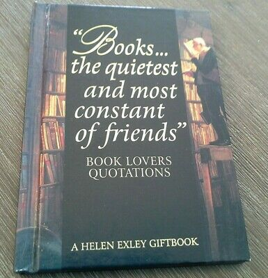 'Books...the quietest and most constant of friends' giftbook quotations & art
