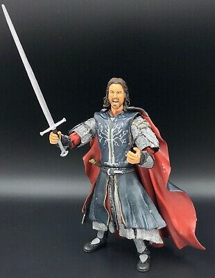 Lord of the Rings Trilogy ToyBiz PELENNOR FIELDS ARAGORN 100% Complete HOBBIT
