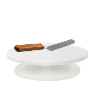 Revolving Cake - Professional Baking and Serving Cakes Decorating Tool with Spat