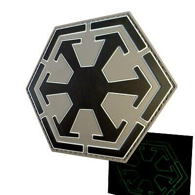 Star Wars Sith Empire Logo Old Republic PVC Glow Dark parche patch VELCRO® brand