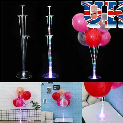 Plastic Balloon Base Table Support Holder Cup Stick Stand Party Decor Accessory