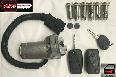 Iveco Daily Complete Lock set with Ignition lock, Door locks and Fuel cap lock