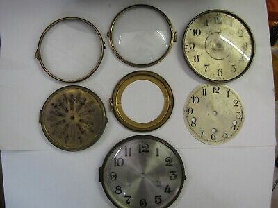 American and German Clock Bezels and Backs