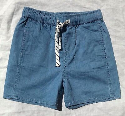 SEED - Chambray Shorts - Size 6-7 - NEW