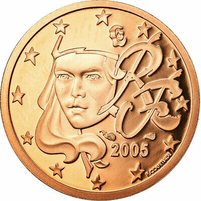 [#730401] France, 2 Euro Cent, 2005, BE, MS(65-70), Copper Plated Steel, KM:1283
