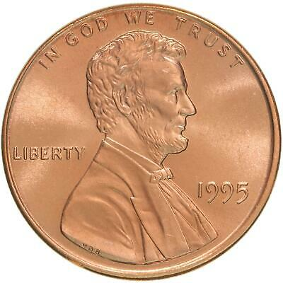 1995 Lincoln Memorial Cent Gem BU Penny US Coin