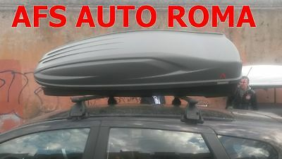 Box Auto Portaoggetti G3 All-Time 480.+Barre Nissan Qashqai No Rails Anno 2010