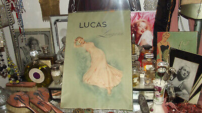 Stunning and Original 1930's Large Lucas Lingerie Box