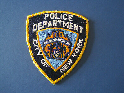 New York City Police Department Brooklyn Nets Novelty Patch Awesome L K