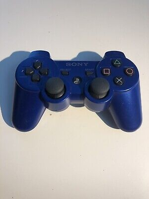 PS3 Official Sony BLUE Wireless Dualshock 3 Controller OEM