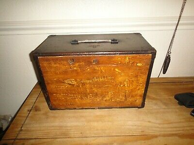 Moore and Wright Engineers Tool Box 7 Original Drawers Plus Extra For Restoring
