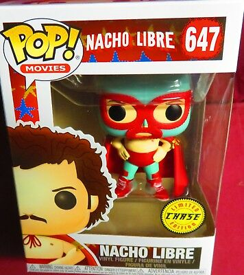 "Rare, New Pop Movies, ""Nacho Libre"", #647,  Chase Variant  In Hand"