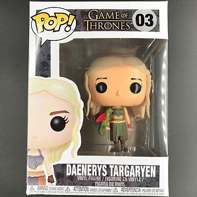 Funko Pop! Game of Thrones - Daenerys Targaryen w/ Dragon #03 Vinyl Figure