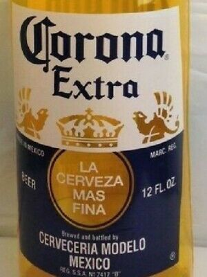 "Corona Extra Beer Bottle Inflatable Cerveza 30"" NEW Photo Prop Tiki Beach Pool"