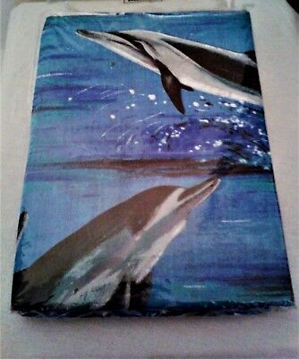 Housse de couette DAUPHINS + 1 taie