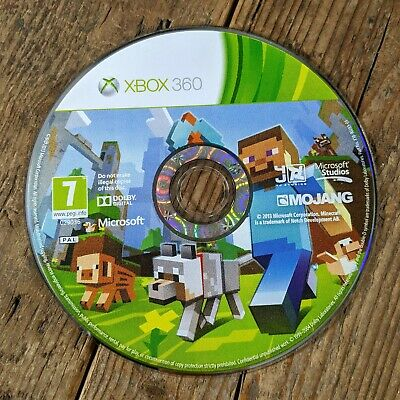 Minecraft (XBOX 360) Video Game *DISC ONLY*