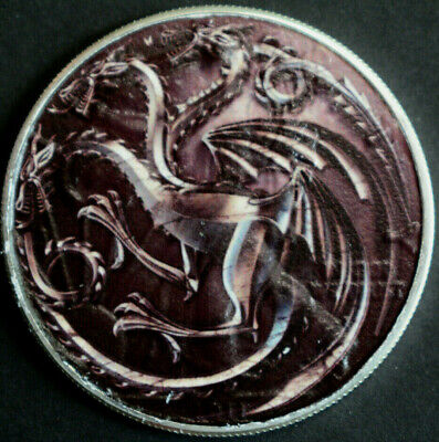 Game of Thrones Dragons - American Silver Eagle 1oz. .999 Silver Coin