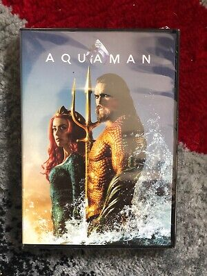 Aquaman (DVD,2018) Bran New Free Shipping Jason Momoa DC Comic
