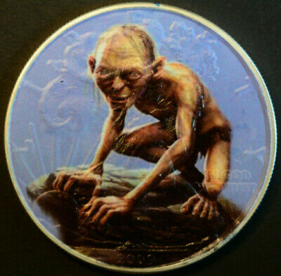Smeagol (Gollum) Limited Editition American Silver Eagle 1oz. .999 Silver Coin