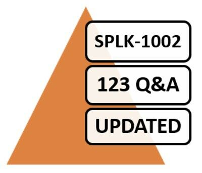Updated Splunk Core Certified Power User SPLK-1002 Exam 123 Q&A PDF