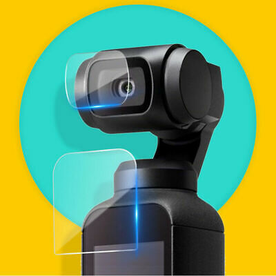 Tempered Glass Screen Protector Set Compatible For DJI Osmo Pocket Camera LENS