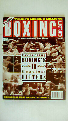 Boxing Illustrated Magazine  April 1993