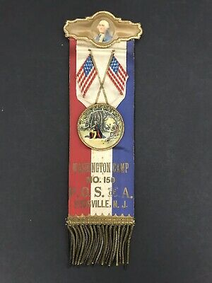 Patriotic Order Sons of America P.O.S. of A Medal Camp NO.150 Titusville, NJ