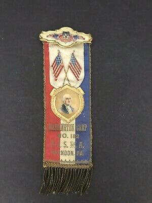Patriotic Order Sons of America P.O.S. of A Medal Camp No. 182 Herdon, PA