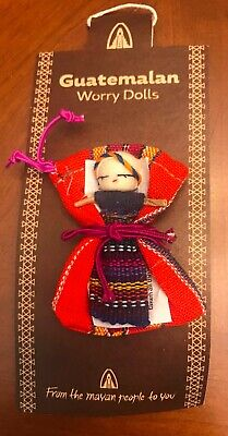 New! Guatemalan Worry People Doll