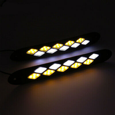 2 x LED COB Ultra Thin High Stability Board High Power Day Time Use Running