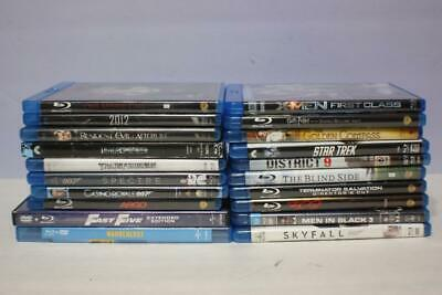 LOT 20 BLU RAY MOVIES 20 BLU-RAY DVDs GOOD TITLES, FREE SHIPPING!!