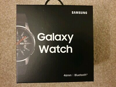 Samsung Galaxy Bluetooth Smart Watch - Silver. Brand new strap and accessories.