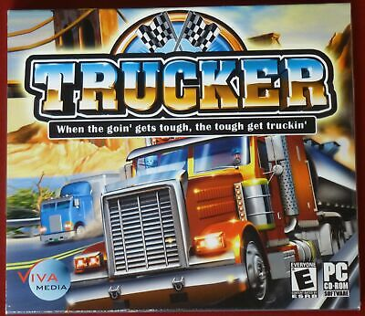 Video Game PC Trucker NEW SEALED Jewel