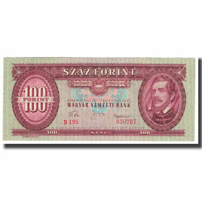 [#621743] Banknote, Hungary, 100 Forint, 1960, 1960-08-24, KM:171a, UNC(65-70)