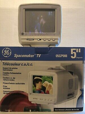 GE General Electric Spacemaker Color Portable TV Television 05GP008