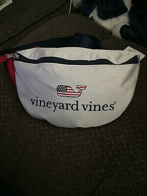 Vineyard Vines For Target Fanny Pack Flag Whale