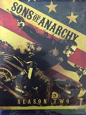 SONS OF ANARCHY - Season 2 3 x BLURAY Set BRAND NEW! Series Two *Region A*