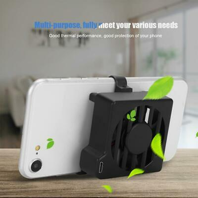 Mini Mobile Phone Cooling Fan Pad Cell Phone Radiator Cooler Holder for Game